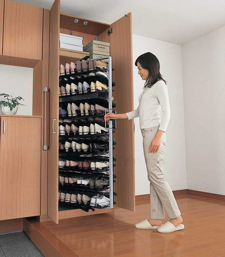 Custom Made Matsushita Type Rotating Shoe Cabinet Storage Shoe Rack 360  Degree Entrance Rotating Shoe Rack ...
