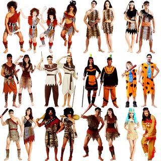Одежда,  Хэллоуин одежда взрослый мужчина женщина земля С участием оригинал человек cosplay производительность одежда черный цвет леопард дикарь одежда, цена 155 руб