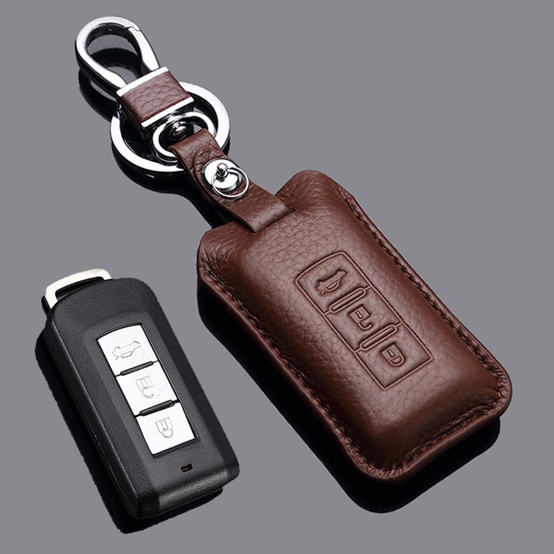 适用于三菱欧蓝德钥匙包套新劲炫帕杰罗菱悦罗劲畅翼神汽车钥匙套