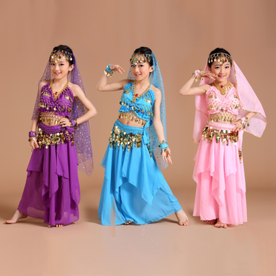 Indian Dance Costumes Sets Stage Performances Dress Orientale Belly Dance Costume Set For Women Oriental Dance Costumes