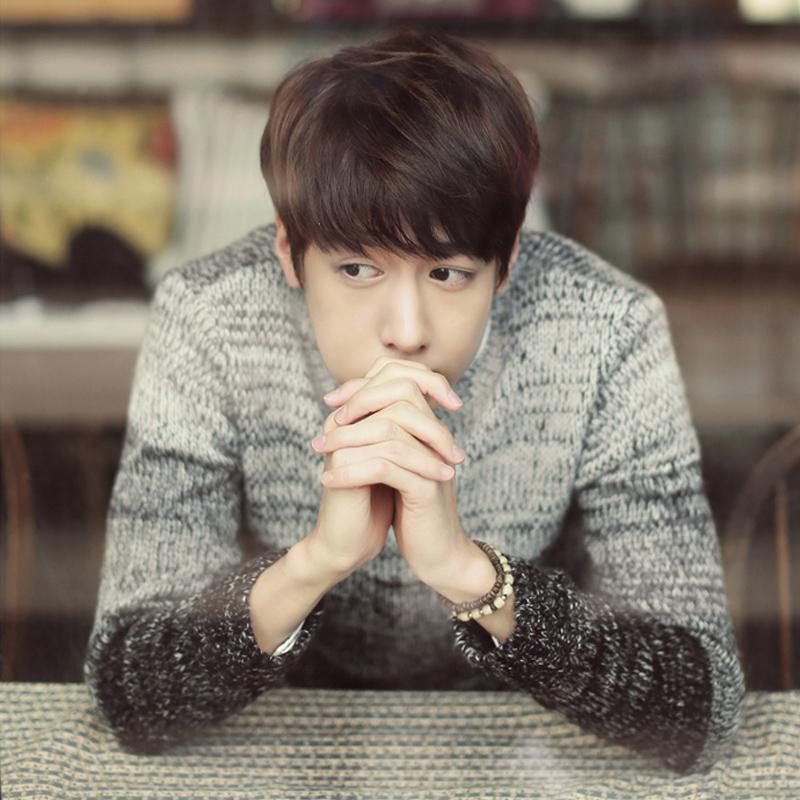 2016新款秋季青少年毛衣韩版春秋学生针织衫外套潮流青年男士衣服