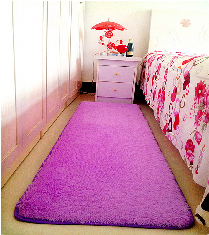 USD 12.77] Washable bedroom bedside carpet living room coffee table ...