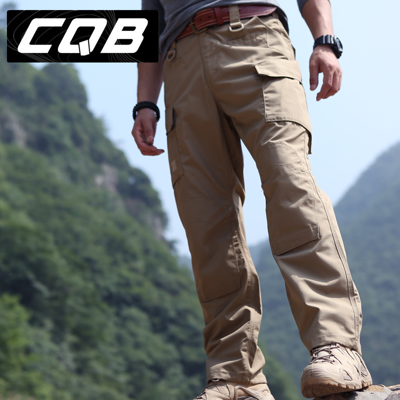 3713f95a2e5f CQB overalls pants outdoor tactical pants men s casual training pants Army  fans water repellent oil stain