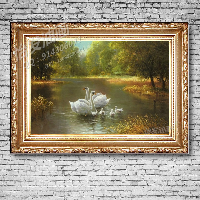 usd 228 68 framed painting living room decorative painting european