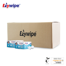 Ezywipe compressed towel for home use, multi purpose disposable face towel for home use, upgrade and thicken 200 pieces / 24 boxes