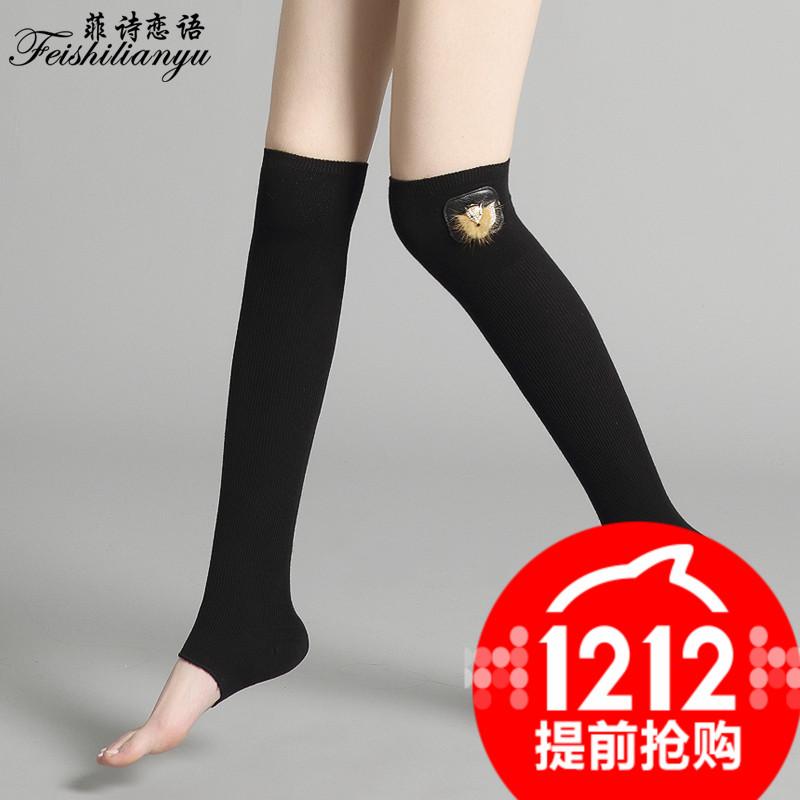 秋冬棉袜中筒袜子女森系复古袜韩国堆堆袜日系长筒女袜套靴袜包邮