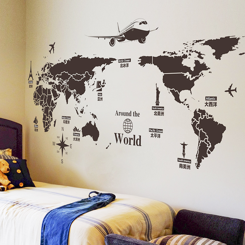Usd 614 Wall Decoration Creative Wall Stickers Dormitory Bed