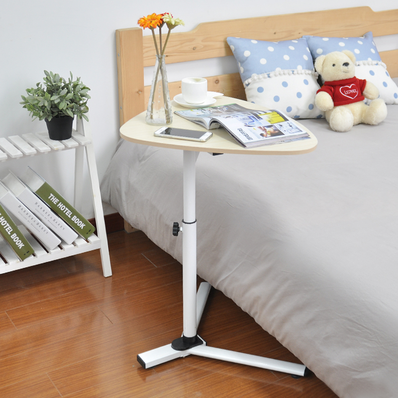 Usd 2438 creative simple land lifting mobile laptop table bedside creative simple land lifting mobile laptop table bedside lazy computer table bed with desk side table watchthetrailerfo