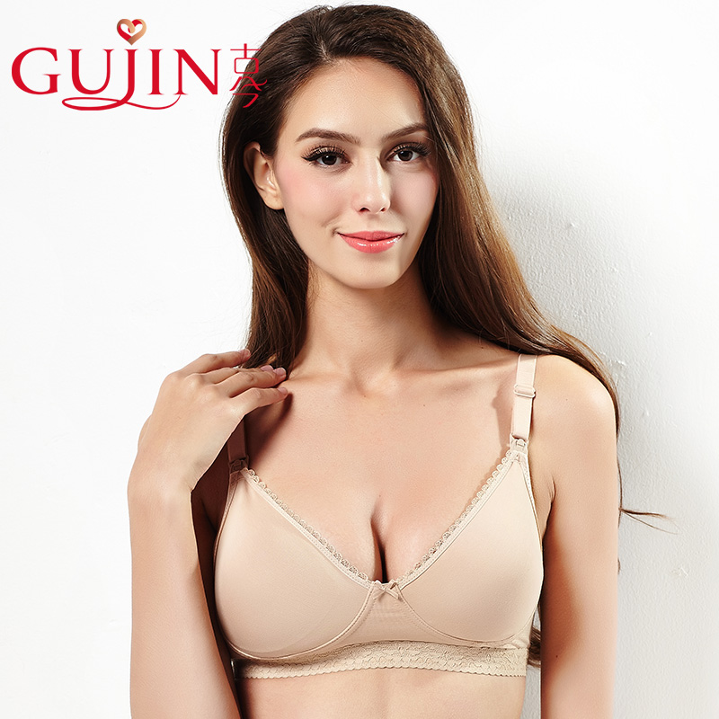 Cổ đại và hiện đại big breast phần mỏng màu thoải mái mà không cần thép vòng kích thước lớn áo ngực thoáng khí bìa đồ lót nữ 0H2115