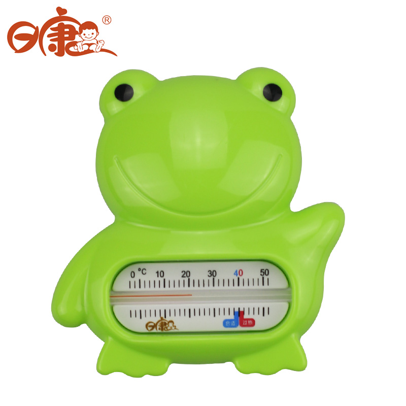 USD 11.39] Rikang frog water temperature meter baby bath toys baby ...