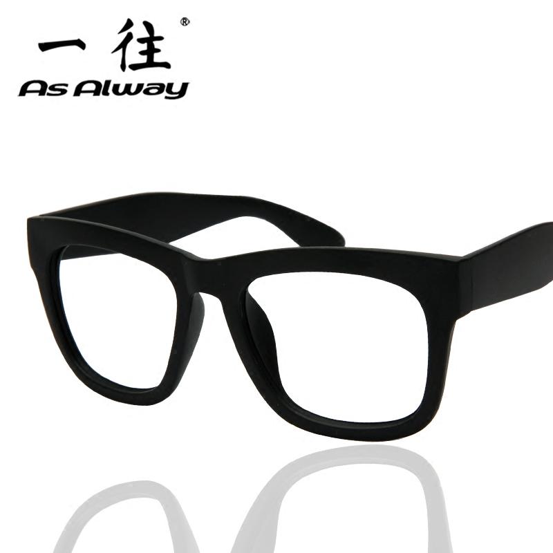 韩版复古眼镜框男全框大脸潮近视眼镜架女大框装饰眼睛框黑色粗框