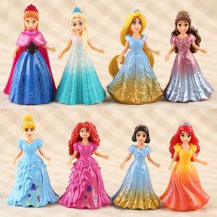 Переодеться принцесса изменение одежда торт украшение переодеться игрушка девушка ребенок живая домой домой установите куклы
