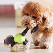 Knitted Animal Friend Pet Toys