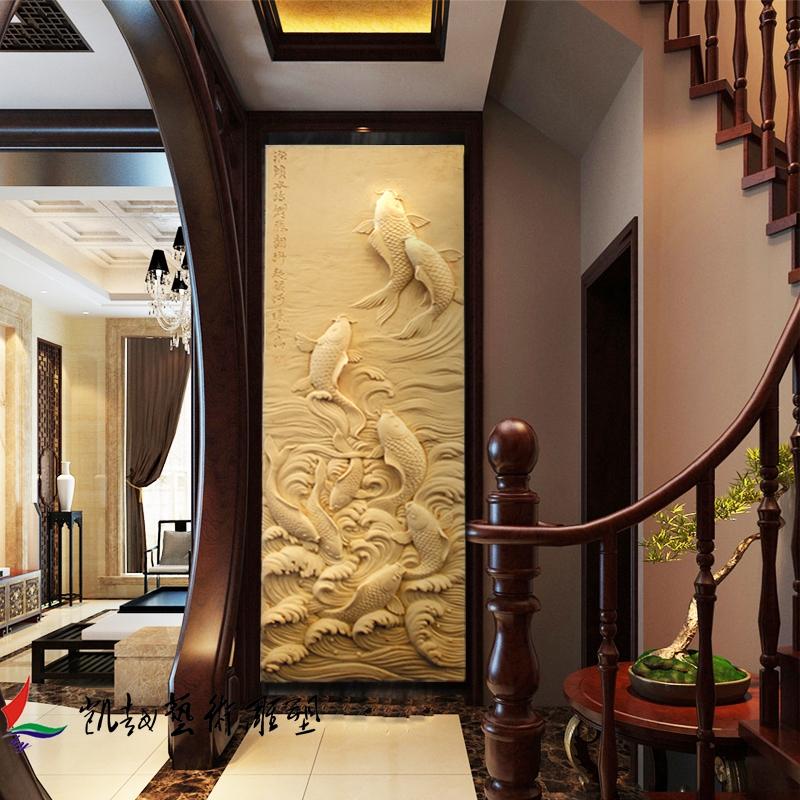 Искусственный песчаник рельеф фреска трехмерный песок модельывать вход иностранных стена песчаник модельывать модель песчаник кирпич резьба карп перейти портал