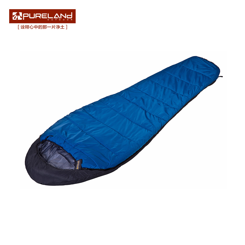 Pulland Sleeping Bag Adult Four Seasons Outdoor Mountaineering Travel Wild Camping Thickens Warm Mommy Single Sleeping Bag