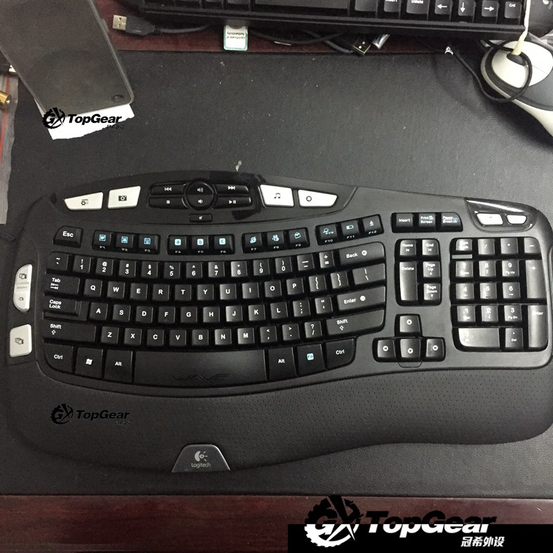 4b2898ffa45 Crown Greek peripheral Logitech most comfortable gifted wireless Office  Gaming Keyboard K350 gifted mouse combo