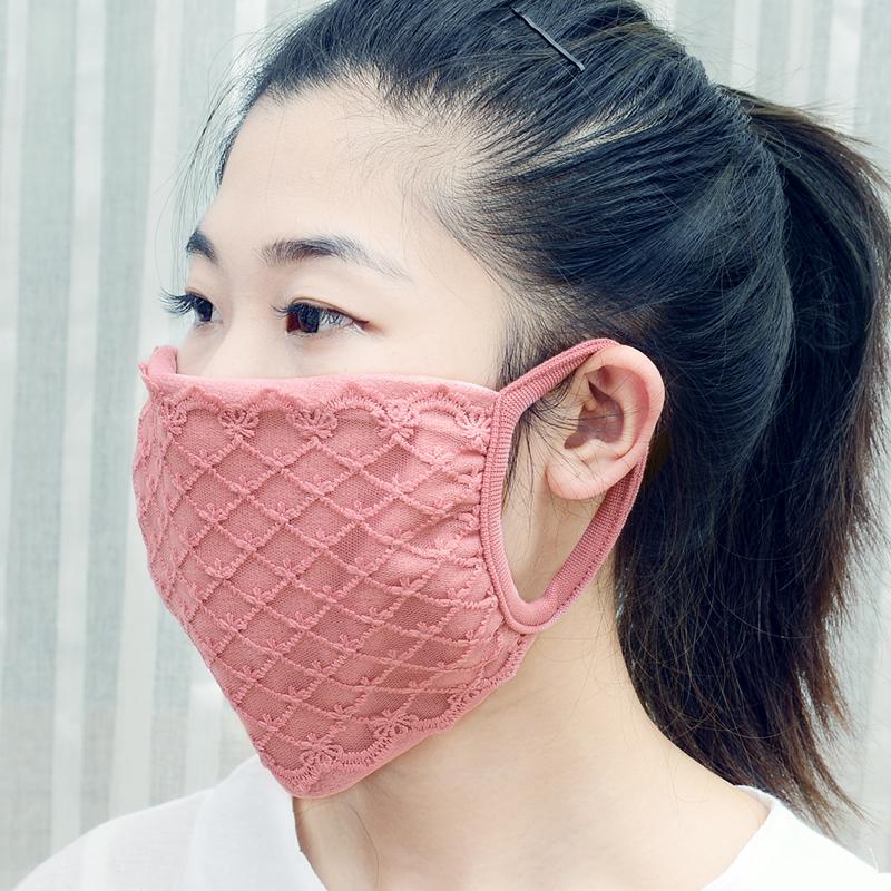 汉丝坊初春薄款口罩无纺布PM2.5活性炭过滤防风挡尘一次性大口罩