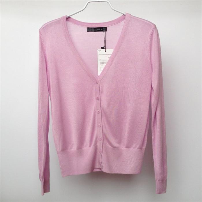 2015夏季新款针织衫女开衫薄小披肩防晒空调衫外搭短款外套女夏天