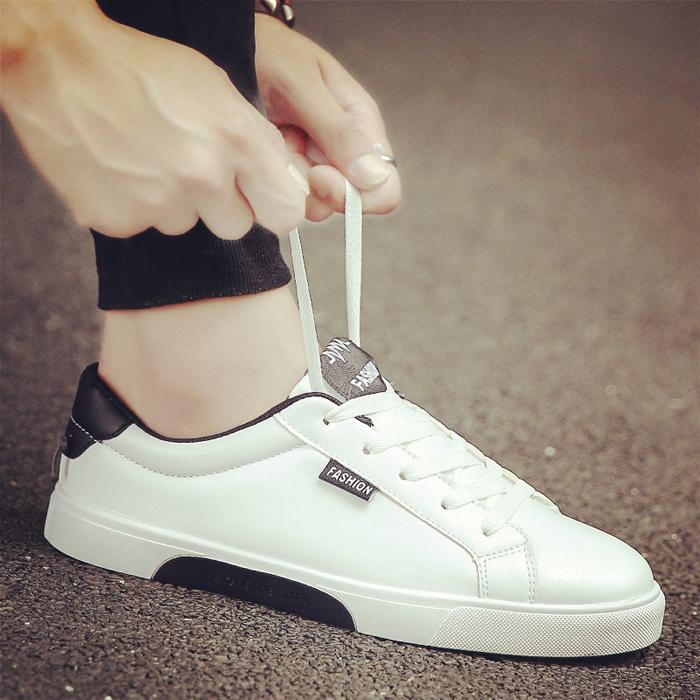 _2017新款夏季男士帆布潮鞋韩版潮流休闲板鞋男鞋子夏天小白鞋白鞋