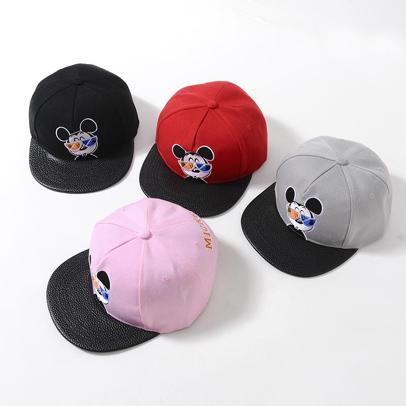 韩国潮儿童帽子宝宝帽春秋男女童时尚太阳帽夏季小孩透气遮阳帽