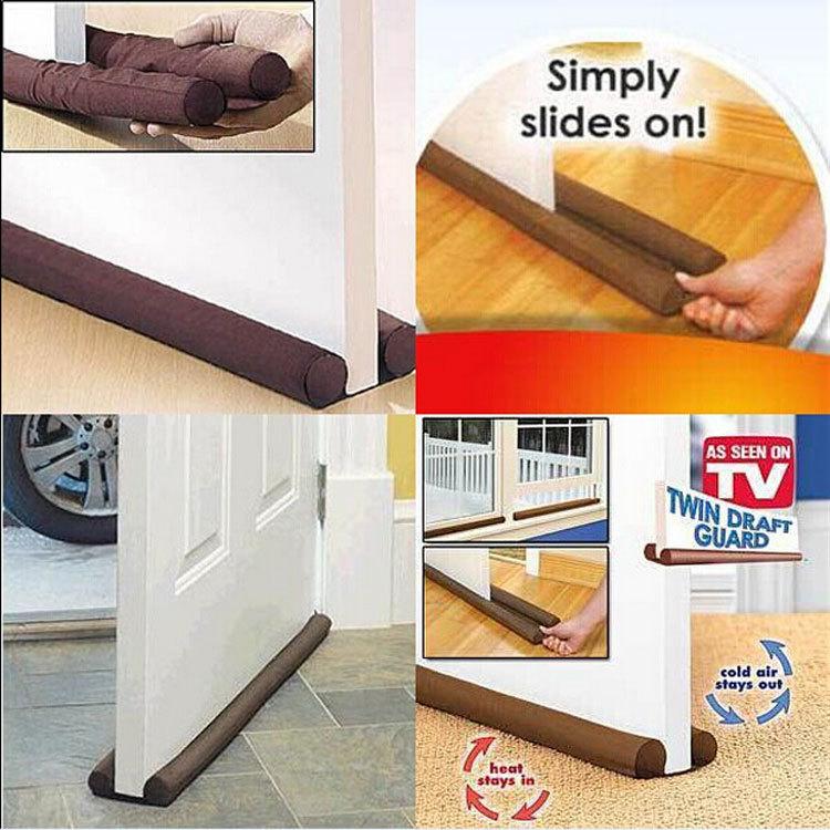 Twin Draft Guard, Dust Stopper Door Stopper Door Stopper TV Door Stopper Dust  Door Home