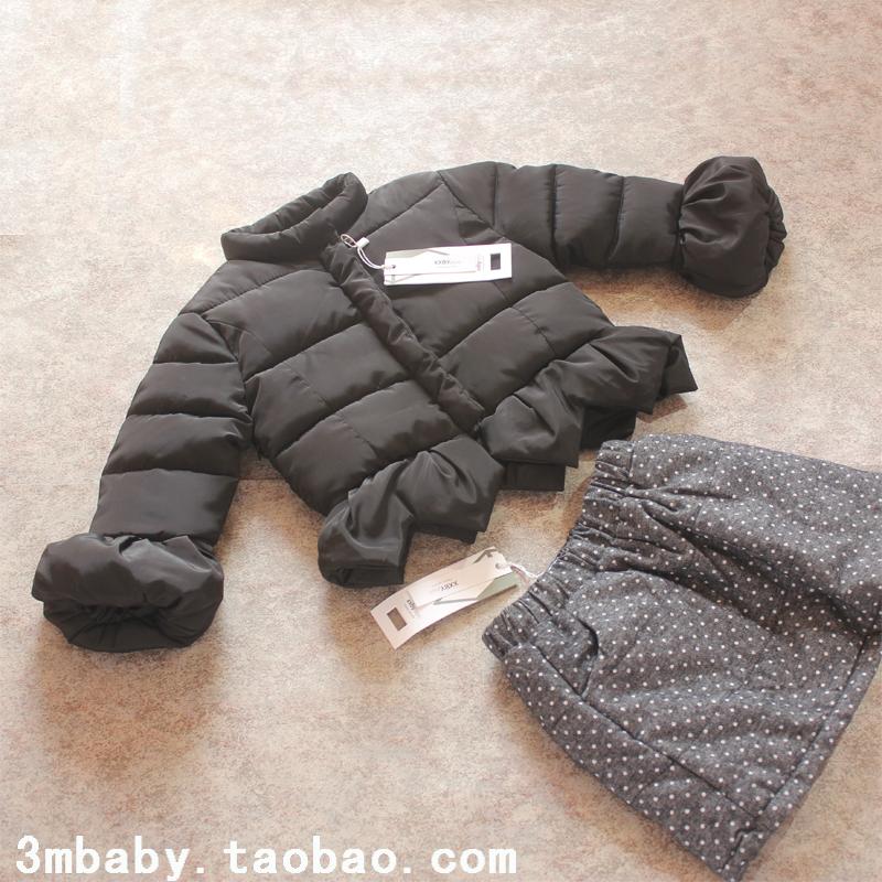 4女童棉衣冬装棉袄5儿童新款童装6羽绒棉服7短款外套8时尚保暖9岁
