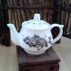 Chaozhou kungfu tea set teapot side Ceramic Teapot office home special small teapot