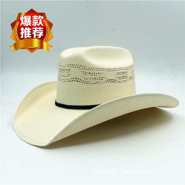 Special US imports of Western cowboy hat Mexican origin 100X straw  stereotypes hard shell men and women summer straw hat