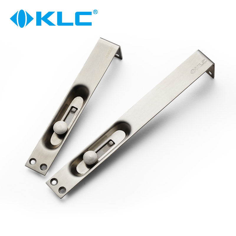 KLC Stainless Steel Wooden Door Of The Dark Latch Door Security Door  Security Buckle And A Double Door Master Door Lock Buckle Concealed