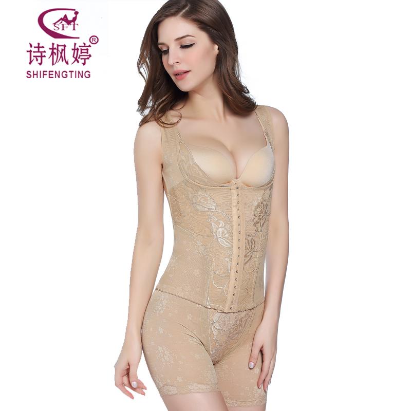 Shi Feng Ting bụng mới bụng dạ dày hông cơ thể hình cơ thể đồ lót không tay lại clip sau sinh hỗ trợ ngực chia phù hợp với