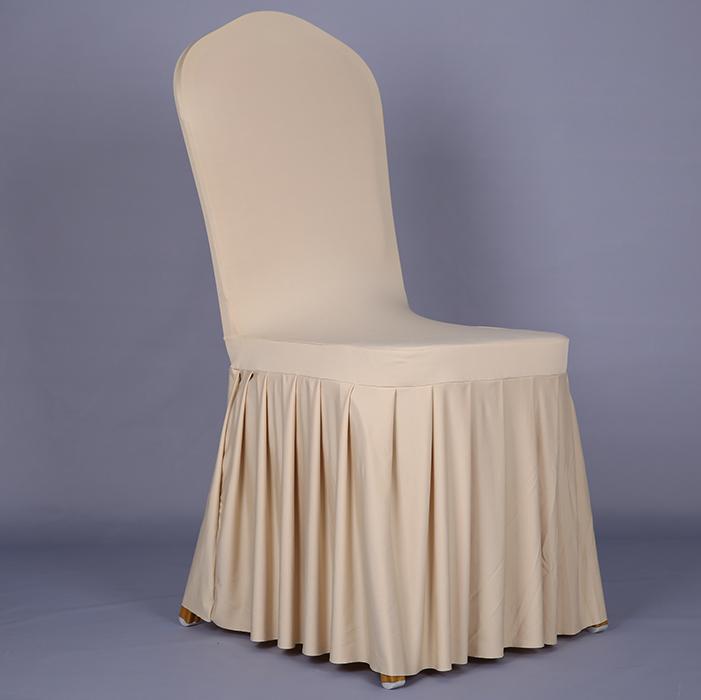 Sun Skirt Stretch Chair Cover Hotel Restaurant Back Wedding One Piece