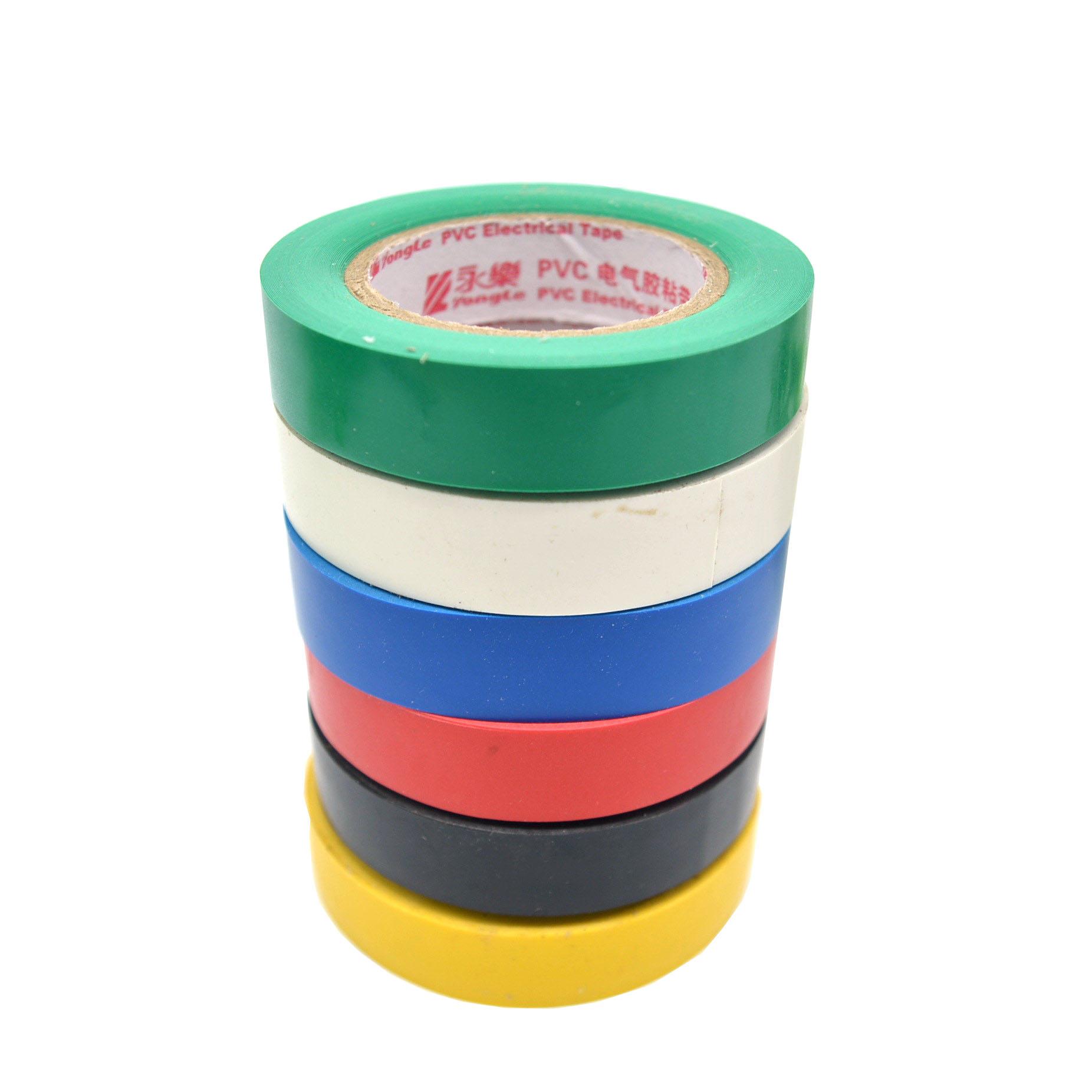 Băng keo cách điện Yongle Đỏ / Trắng / Xanh / Đen Băng keo điện PVC