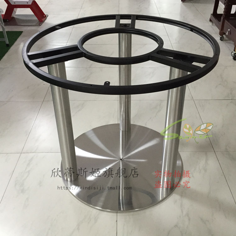 New Shindiske Marble round table legs table legs table legs large round table legs stand stainless steel Top Search - farm table legs Elegant