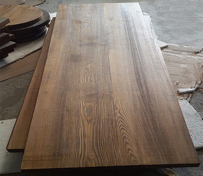 Pure solid wood old eucalyptus bar tableboard table board table worksheet desk desk desktop board partition custom
