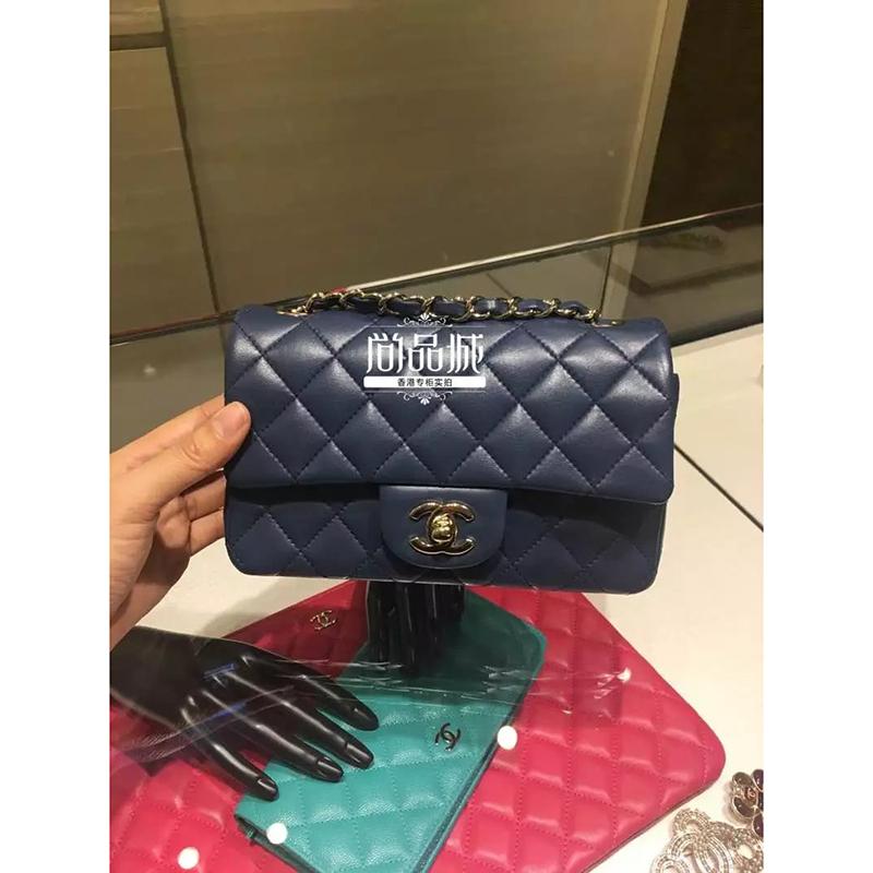 正品直邮Chanel 香奈儿2016新款女包 真皮链子时尚单肩斜挎包