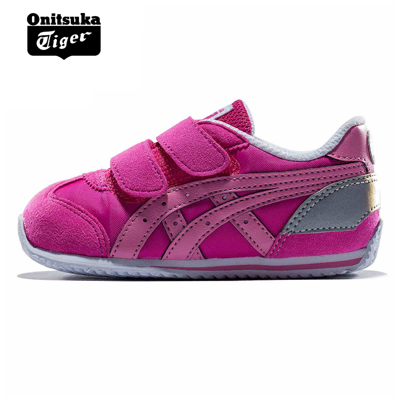 separation shoes 28d45 c705e Onitsuka Tiger Onizuka Tiger casual shoes Velcro infant children's shoes  CALIFORNIA TH2A1N