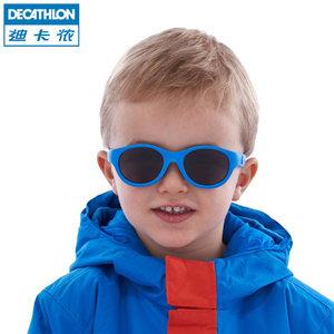 迪卡侬官网旗舰店宝宝墨镜0-2岁婴儿眼镜男童女童儿童太阳镜QUOP