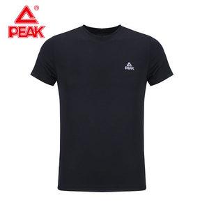 匹克短袖T恤男士休闲打底衫运动服
