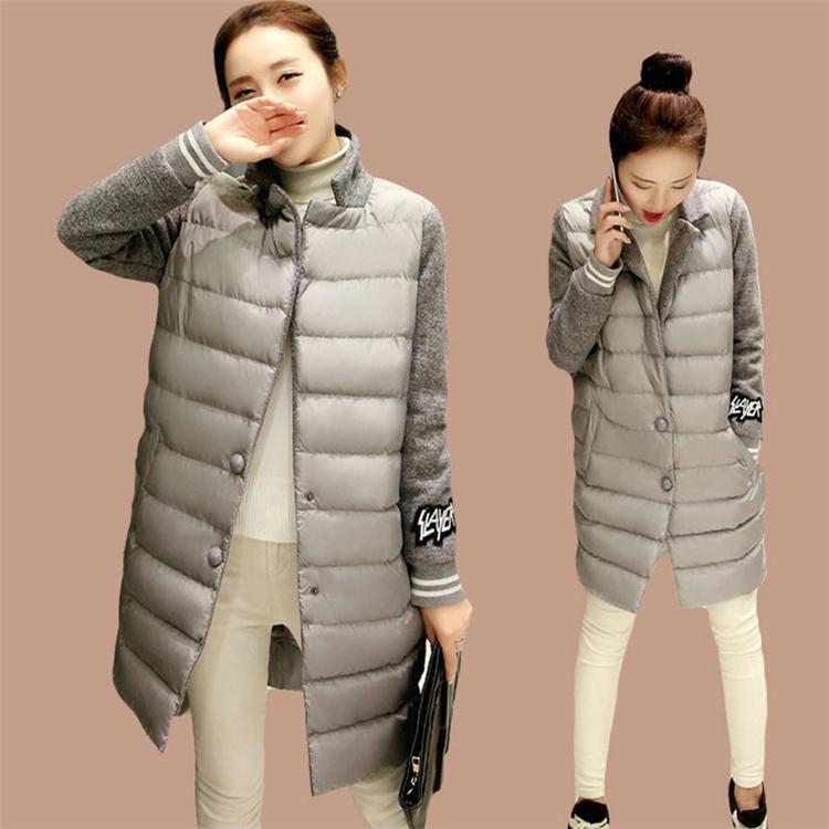 冬装羽绒棉服中长款修身显瘦中年妈妈装棉衣女装加厚大码棉袄外套