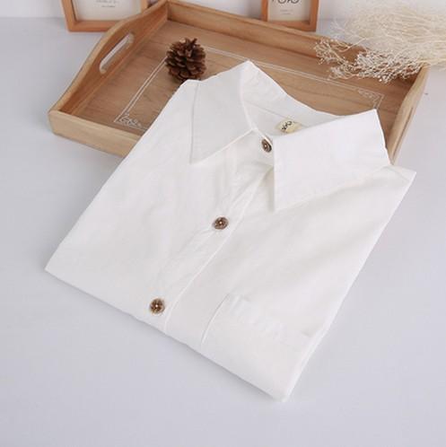 春季中学生格子衫女装格格衬衣大码磨毛格子衬衫长袖纯棉打底寸衫