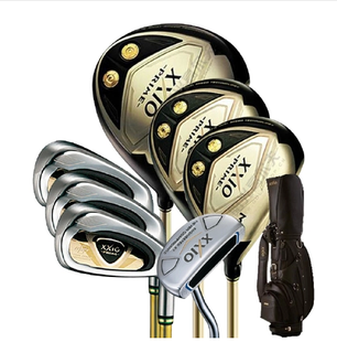 Japan original sale XXIO SP800 carbon golf clubs men's full set of gold clubs