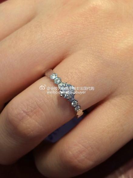 France Purchasing Chaumet Shangmei Bee My Love Hive Song Hui Qiao Wedding Ring J1nc00