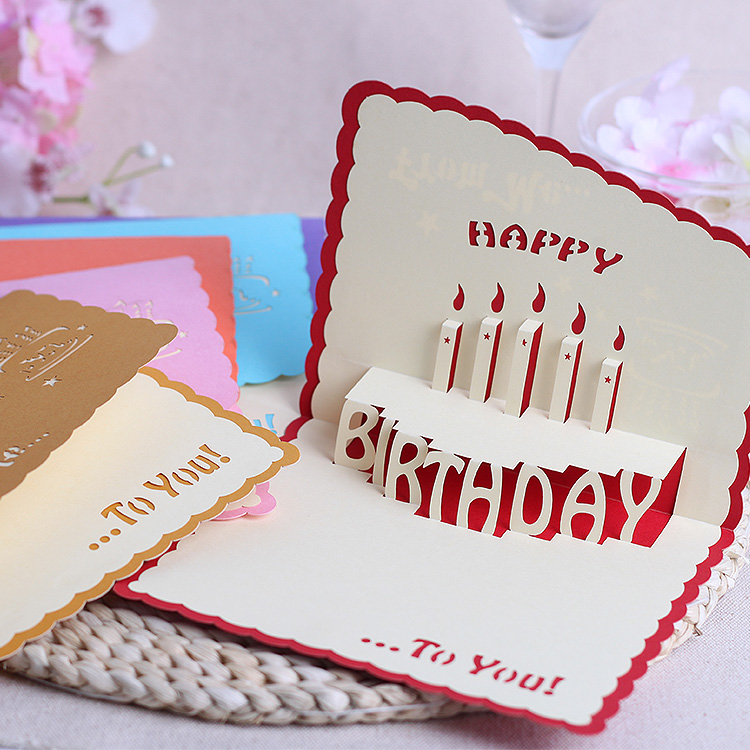 Usd 564 Korean Creative Birthday Card Thank Business Blessing