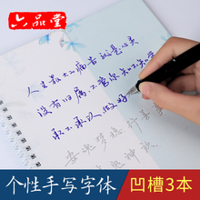 Liupintang handwritten calligraphy groove pen line regular script quick adult cursive script for male and female students