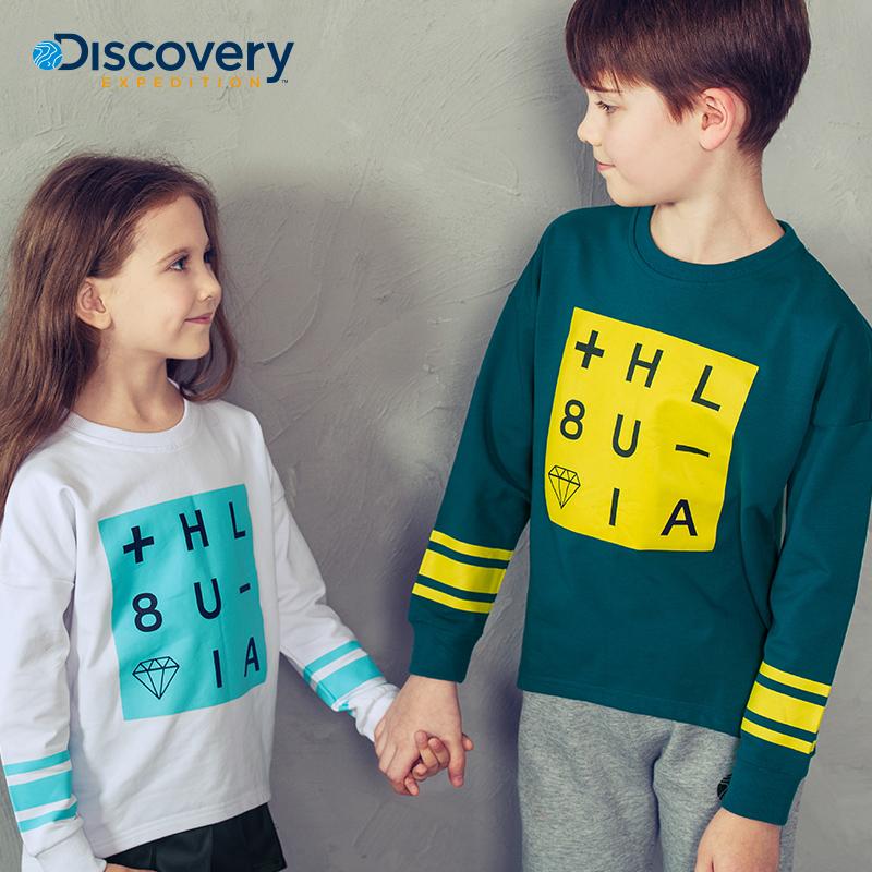 美国品牌童装秋新款中大童长袖T恤