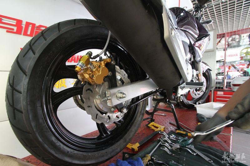 摩托车配件#建设雅马哈天剑王YBR250导流罩总成(鸡尾酒红)右
