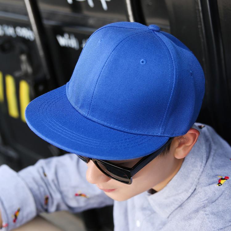 帽子韩版纯色棒球帽男女情侣潮夏天户外鸭舌遮阳平沿檐街舞嘻哈帽