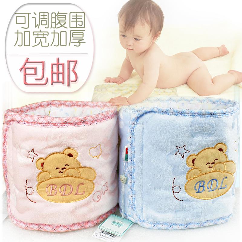 婴儿儿童护肚子护肚脐高腰短裤肚围双层保暖宝宝夏季护肚防踢神器