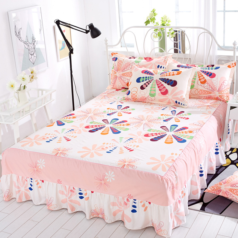 Yixin tình yêu Simmons trải giường cover giường giường váy mảnh duy nhất công chúa trải giường tấm ga trải giường, bảo vệ bìa bụi che