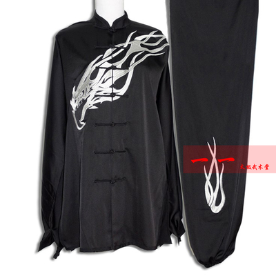 Martial Arts Clothes  Kungfu clothes High-end Taijiquan dress, martial arts dress, embroidered Eagle costume, men and women Taijiquan competition Costume Suit